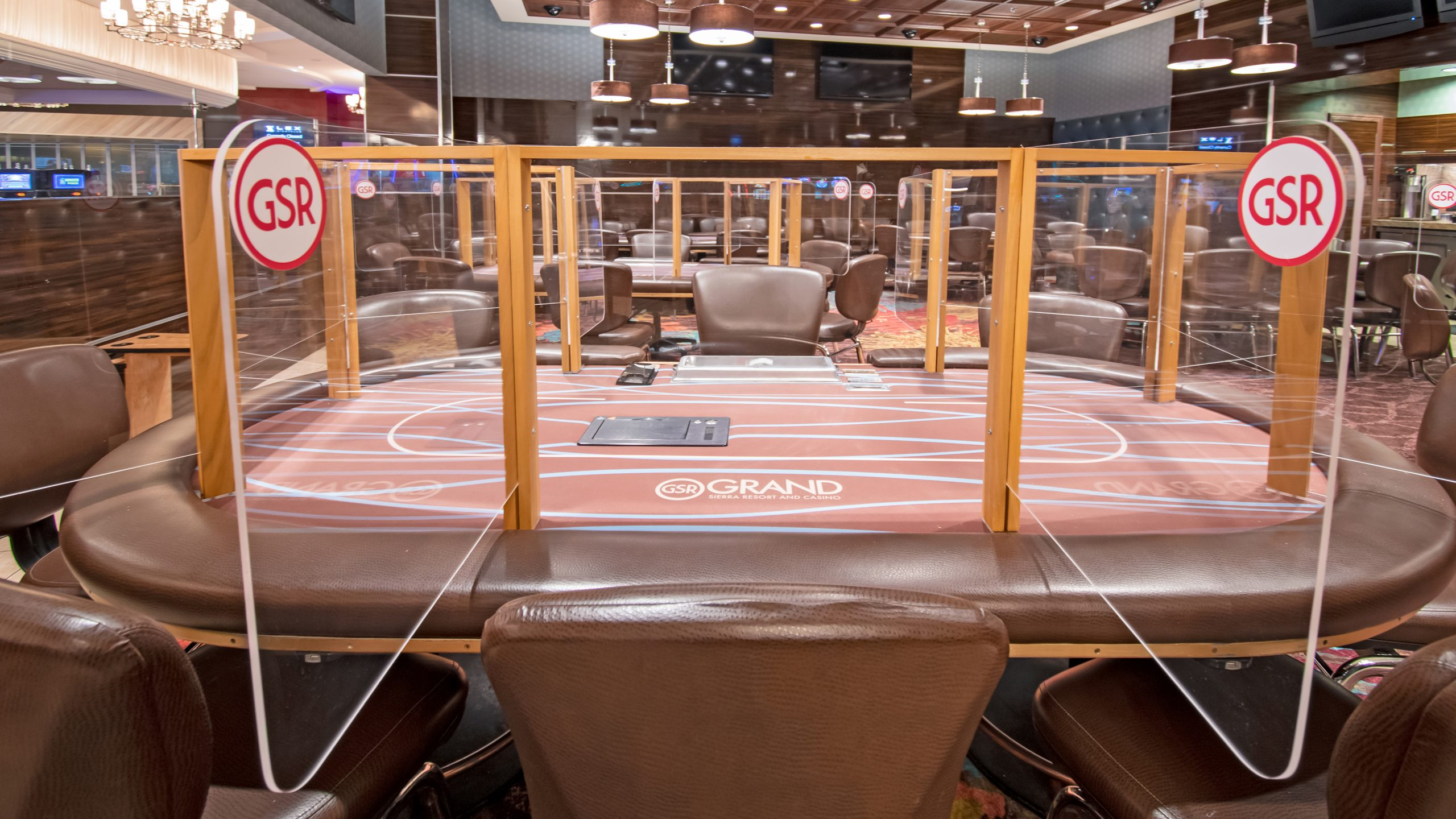 Seat View of Poker Table